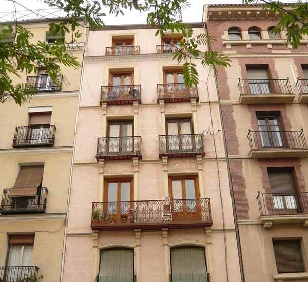 fachada edificio viviendas